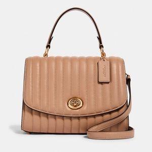 NEW💃Coach Tilly Top Handle Satchel/Crossbody Bag